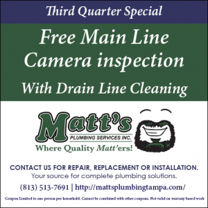 Free Main Line Camera Inspection