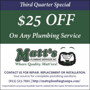 $25 off plumbing repair
