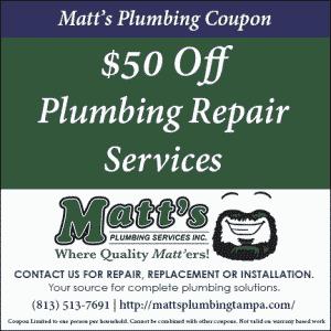 plumbing repair coupon
