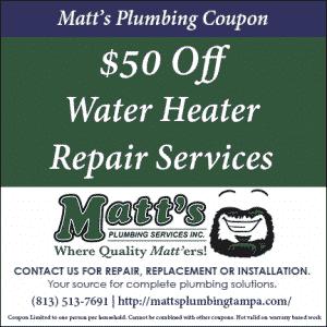 $50 off Water Heater Repair (coupon)